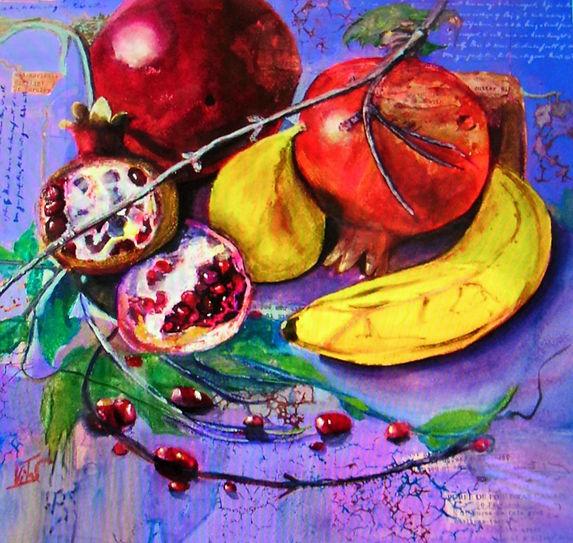 Sorrentino_Still Life with Pomegranates.