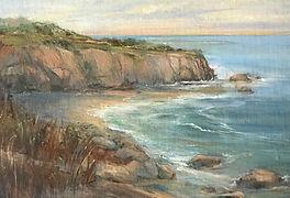 Ferrone_seascape_Sun, Sand & Surf 11 x 1