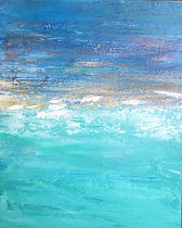 Hinaekian_seascape_Ocean Blue_mixed medi