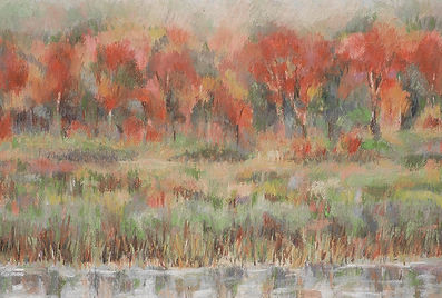 Levine_greenery_Autumn along the river.jpg