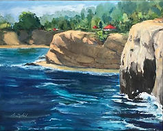 Nobil_seascape_Cliffs of LJ oil 16x20 52