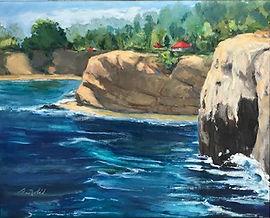 Nobil_seascape_Cliffs of LJ oil 16x20 52