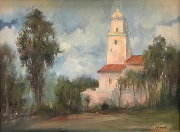 Ferrone_pleinair_San Diego Mission Oil 12x16 675.jpg