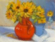 Nobil Sunflowers Orange Pot.jpg