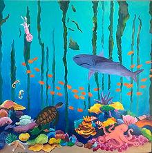 Morse_ seascape_Underwater World _Print_