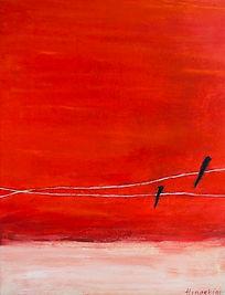 Hinaekian_landscape_Red Sands_mixed medi
