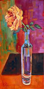 Katz_Still Life_On my kitchen table Oil on wood 1x6 350.jpg