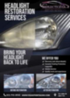 Copy of Headlight Restoration Service Fl