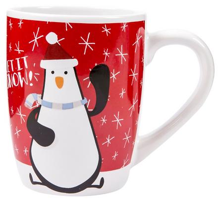 'Let It Snow' Cute Snowy Mug