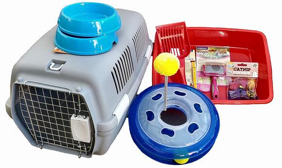 8 Item Kitten/Cat Starter Gift Pack