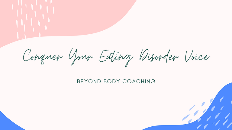 Conquer Your Eating Disorder Voice (June 2021) | Find Freedom & Respond Effectively to Disordered Thoughts