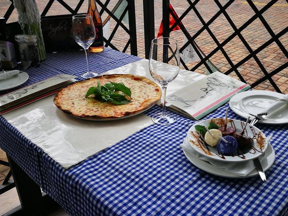 Angelo's Pane Vino - Table 2