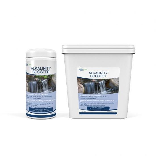 Alkalinity Booster with Phosphate Binder