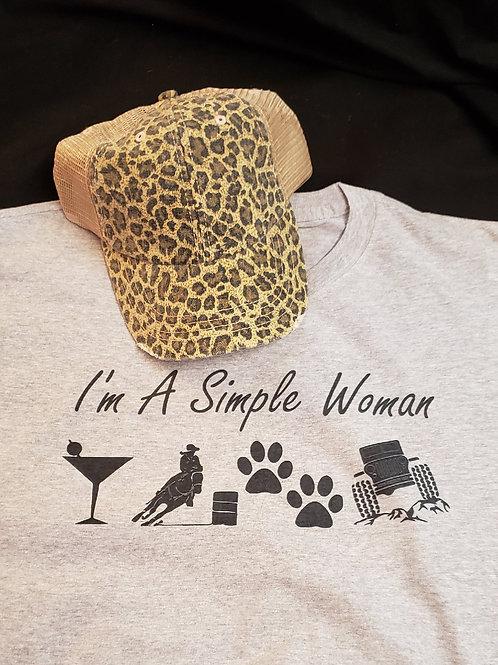 I'm A Simple Woman Tee