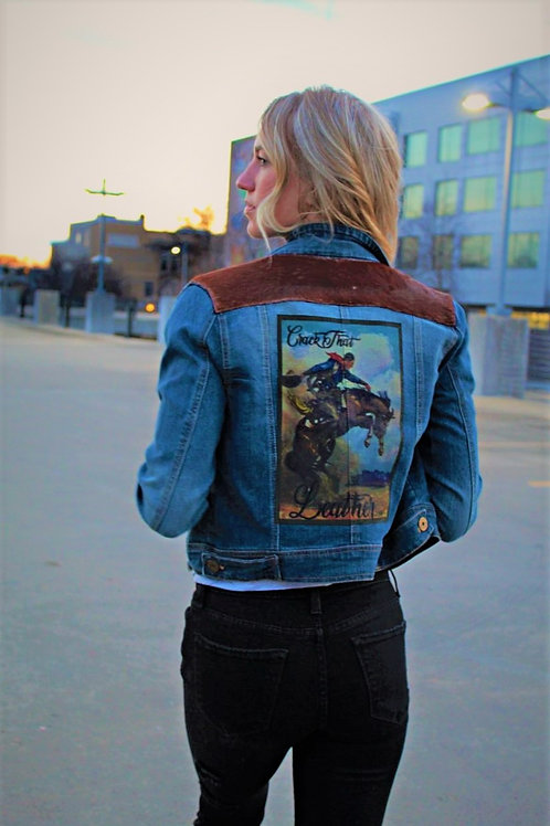 Red Ranch Upcycled Jacket
