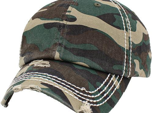 Vintage Camo Hat
