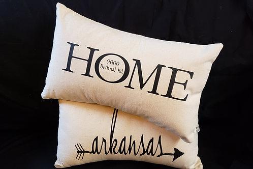 10 x 18 Custom Pillow