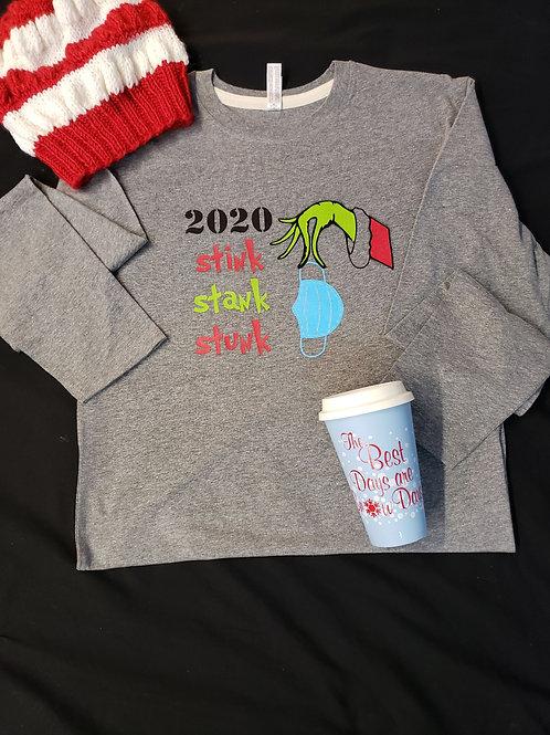 Stink, Stank, Stunk Christmas Tee