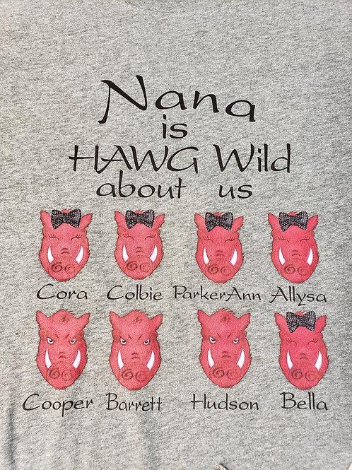 Custom Hawg Wild Tee