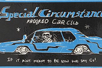 Krooked Car Club Sticker