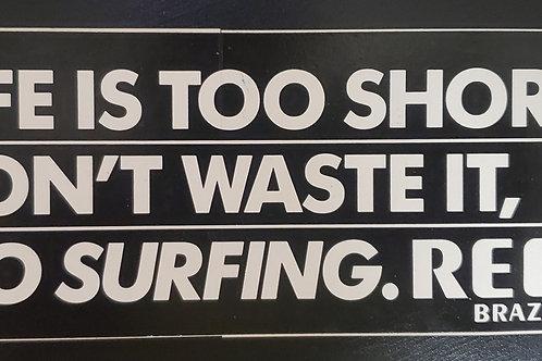 Reef Surfing Sticker