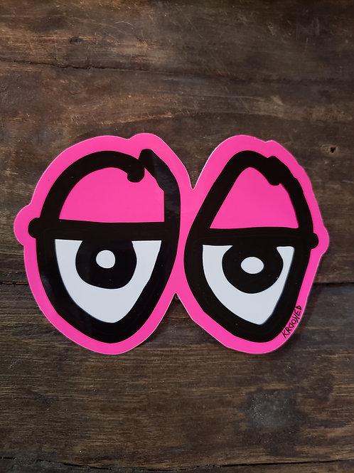 Krooked Eyes - Pink