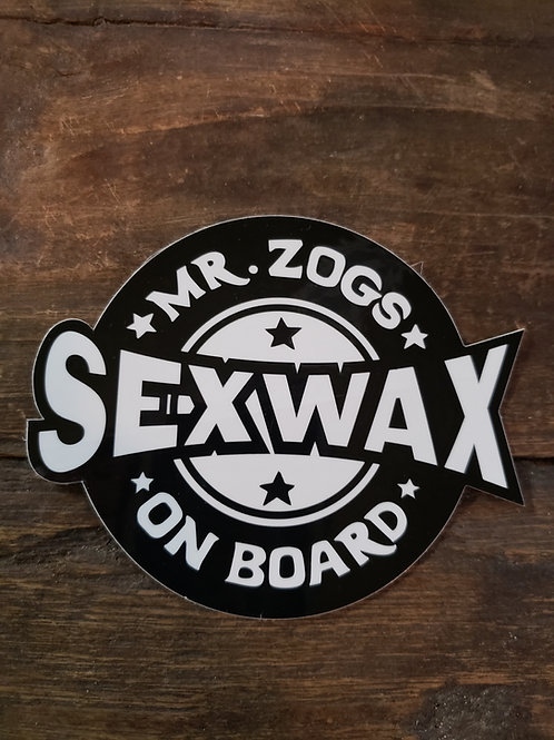 Sex Wax Sticker