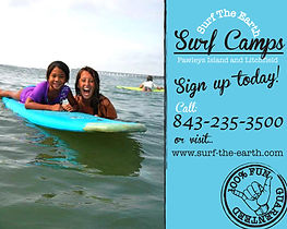 pawleys island surf camps, pawleys island surf lessons