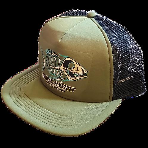 Surf The Earth Classic Trucker Hat - Bonefish Ol/Bk