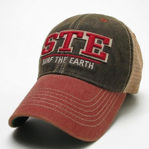 STE O;d Favorite Trucker Black/Red