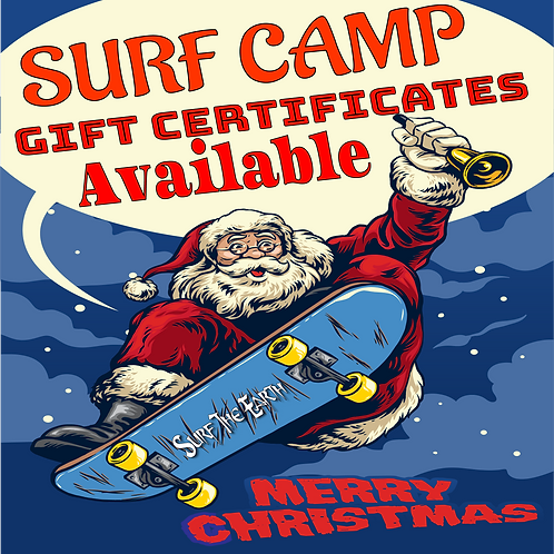 Surf Camp Gift Certificate
