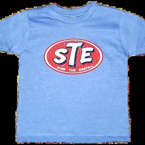 Surf The Earth Toddler T-Shirt - Design STE