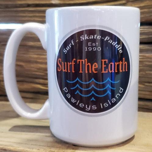Surf The Earth Waves 15oz Mug!