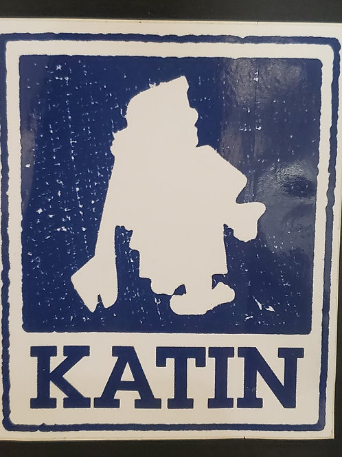 Katin Surf Sticker