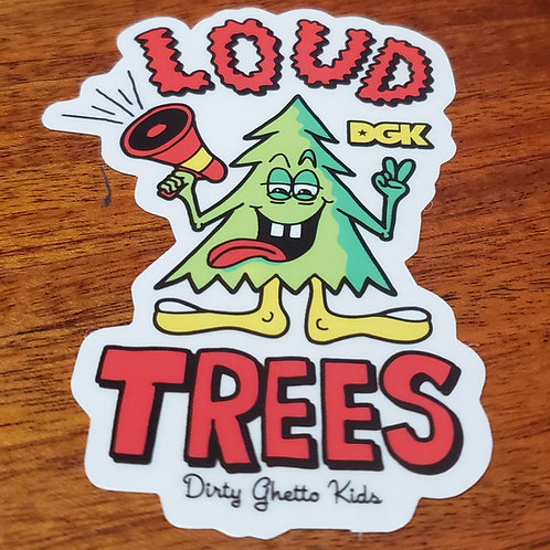 DKG Loud Trees Sticker
