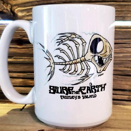 Fishbone 15oz coffee mug