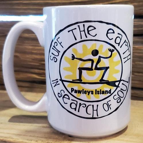 Surf The Earth Oval Tattoo 15oz Mug!