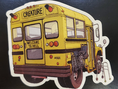 Creature Skate Co Sticker