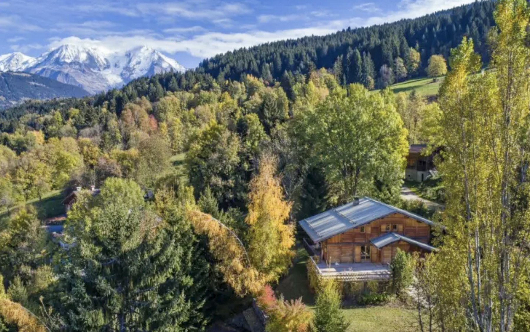 Chalet with views in French Alps