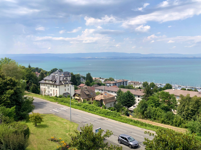квартира с видом на женевское озеро эвиа