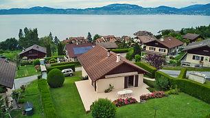 недвижимость, женевское озеро, сен жингольф, saint gingolph, верхняя савойя, франция, эвиан, вид на озеро, панорамный вид, гараж, отдельная квартира, берег озера, граница, дом с видом на озеро, агент, агенство недвижимости, русский
