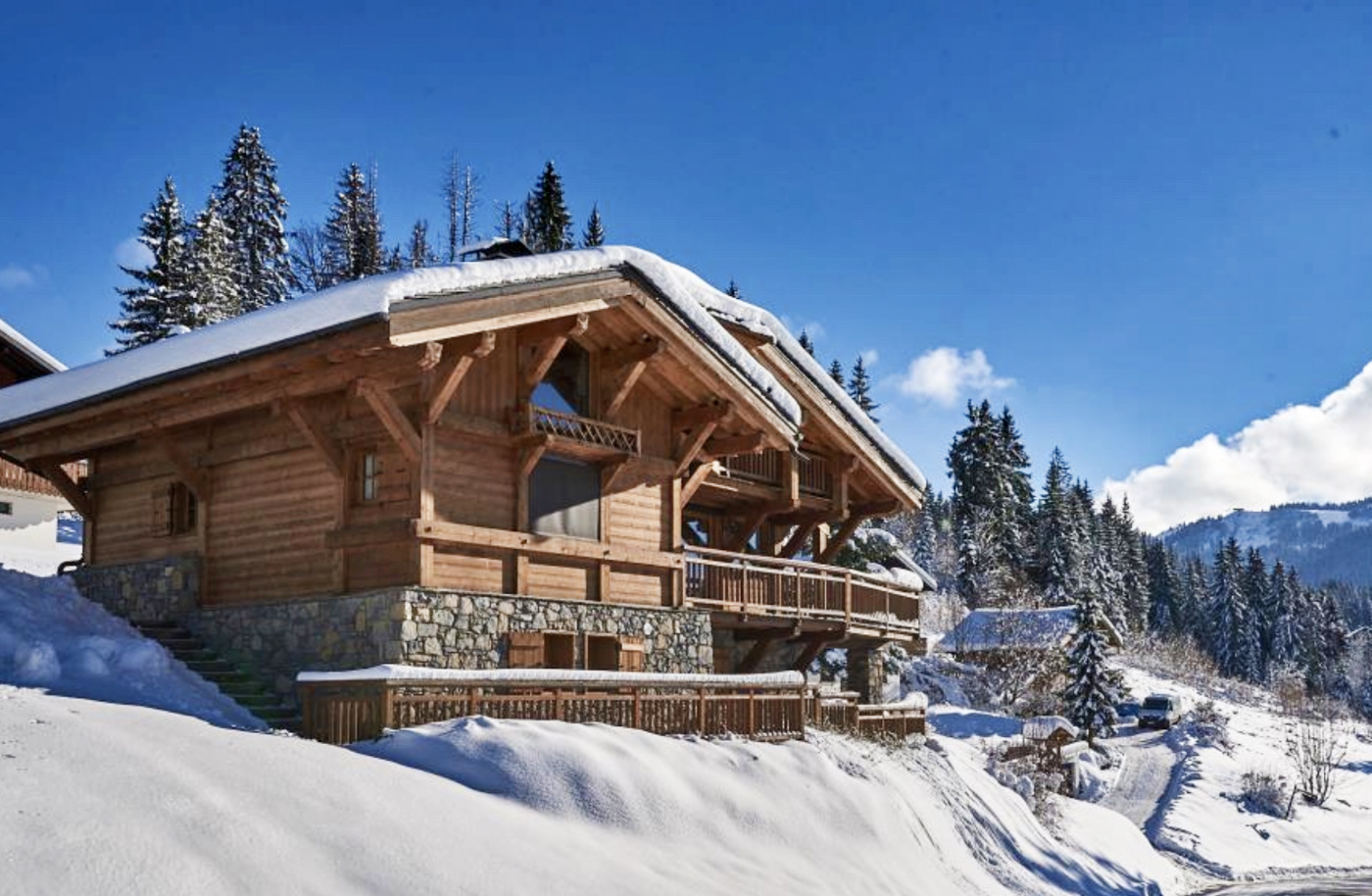 Chalet for Sale in Les Gets France