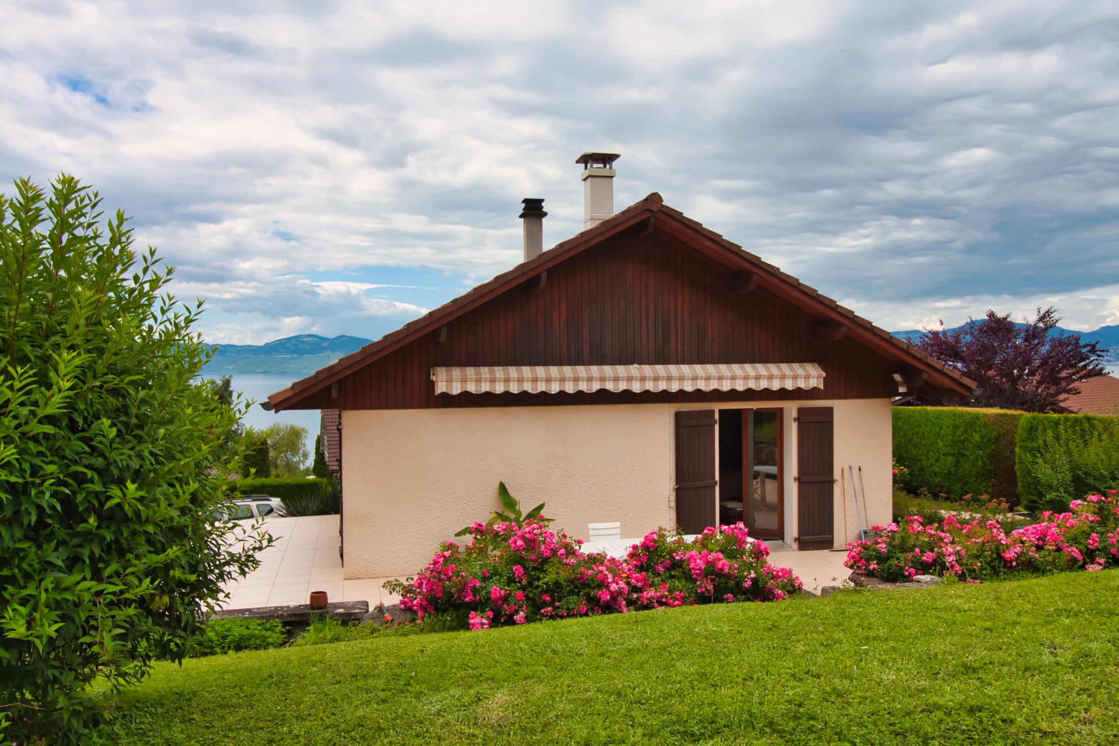 vente maison avec vue sur le lac léman saint gingolph