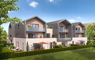 real estate, immobilier, thonon, evian, lake geneva, geneva lake, haute savoie, france, alps, new build, apartment, three bedroom, garage, garden, terrace, new, agent, english, agency