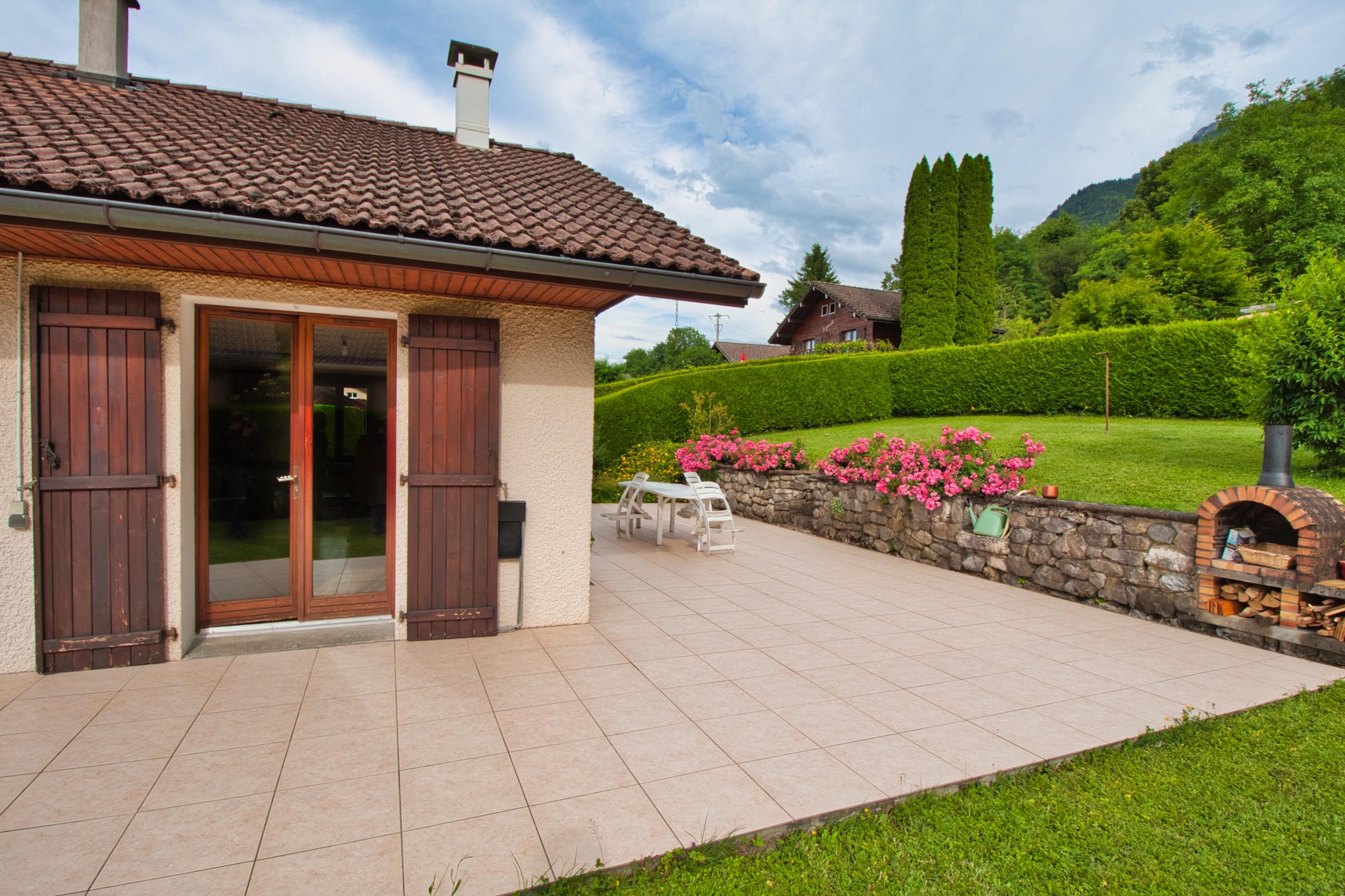дом с видом на женевское озеро франция