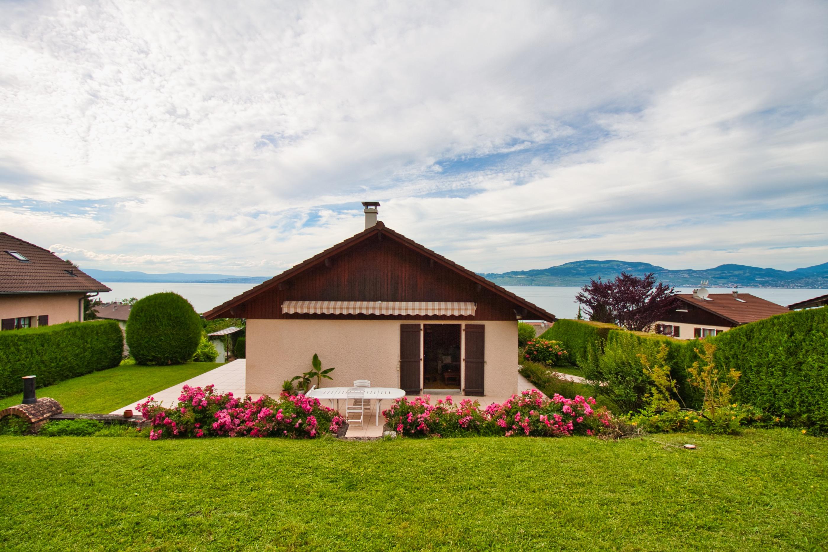 maison à vendre avec vue sur le lac léman saint gingolph