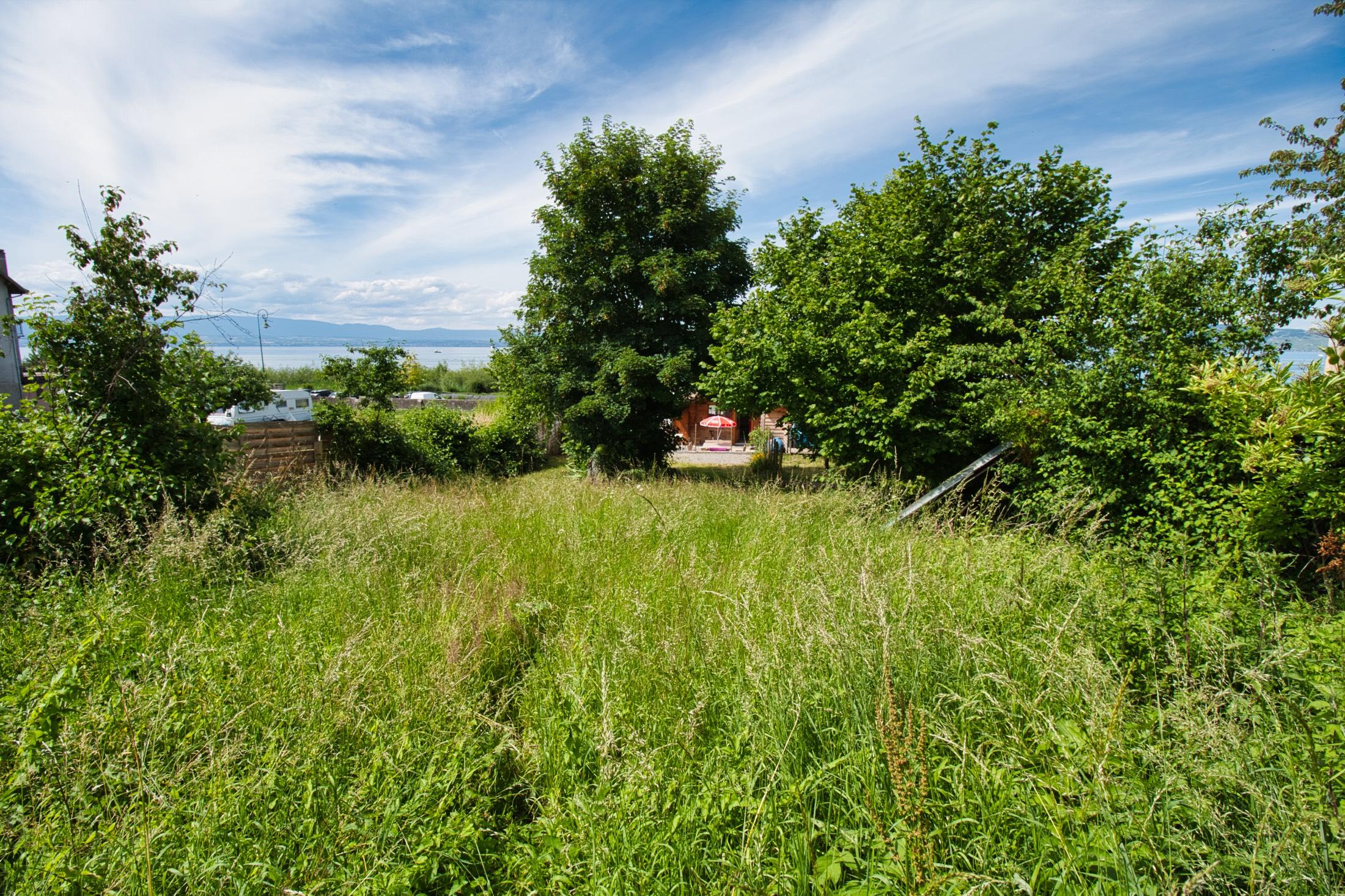 участок под застройку женевское озеро франция эвиан