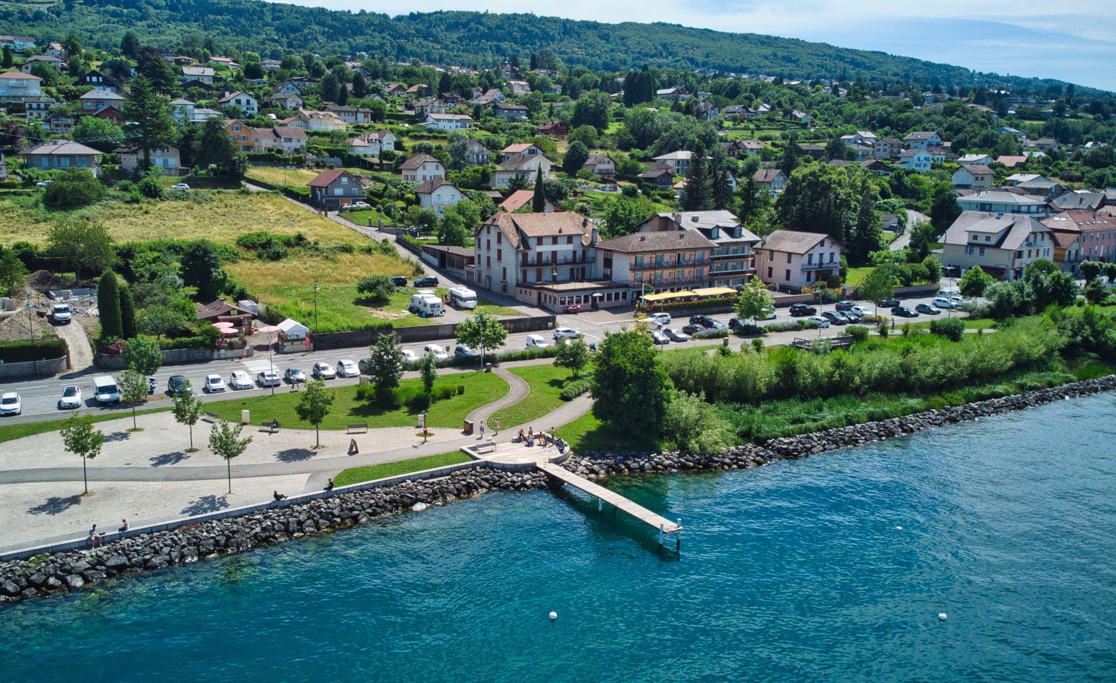 купить недвижимость на первой линии женевского озера