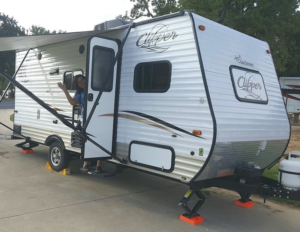 We drove to Grapevine, Texas and pulled our travel trailer ten hours.