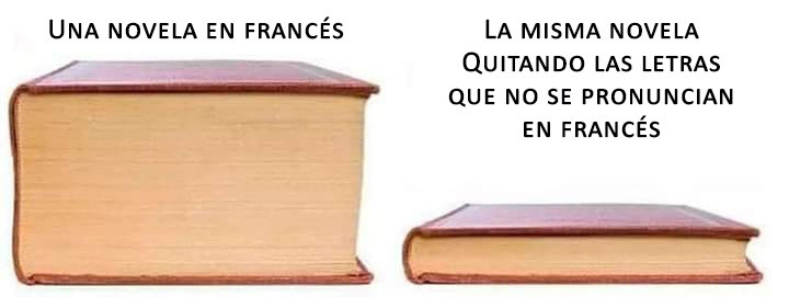 Tantas letras mudas en francés